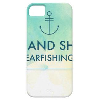 Capa Para iPhone 5 A elevação e brilha-o é tempo de Spearfishing
