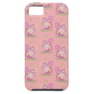 Capa Para iPhone 5 A fada bonito de Frenchie está moldando um período