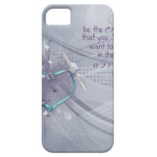 Capa Para iPhone 5 A fita do coração do Aqua, diploma, jóias, seja a
