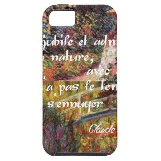 Capa Para iPhone 5 A natureza no art. de Monet