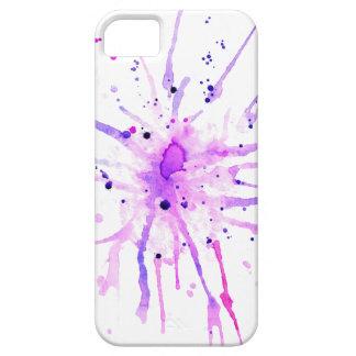 Capa Para iPhone 5 A pintura do Grunge Splatters o roxo