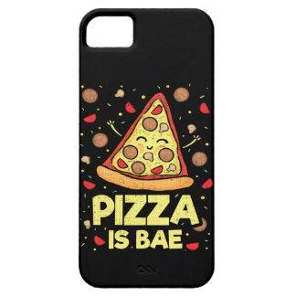 Capa Para iPhone 5 A pizza é Bae - desenhos animados engraçados -