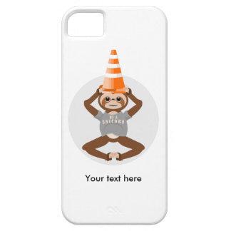 Capa Para iPhone 5 A preguiça bonito seja um unicórnio
