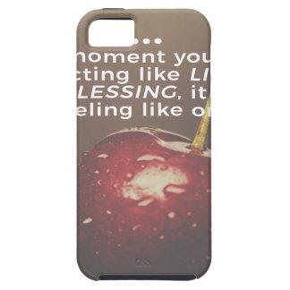 Capa Para iPhone 5 A vida é uma bênção