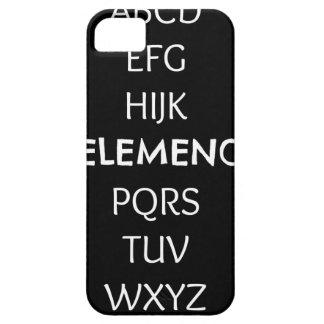 CAPA PARA iPhone 5 ABC