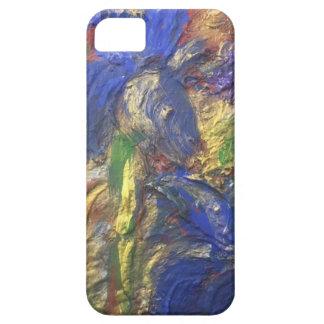 Capa Para iPhone 5 Abstrato da íris