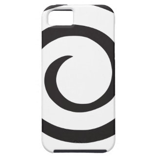 Capa Para iPhone 5 Abstrato espiral