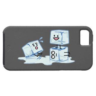 Capa Para iPhone 5 água gelada do cubo dos cubos de gelo que desliza