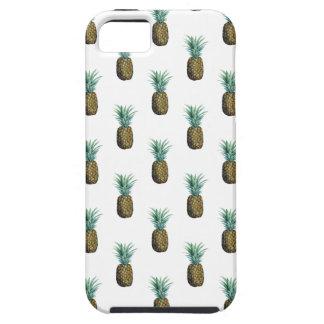 Capa Para iPhone 5 Aguarela tropical do abacaxi