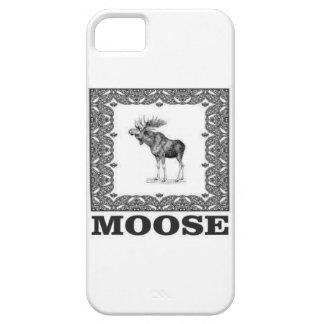 Capa Para iPhone 5 alces do touro em uma caixa