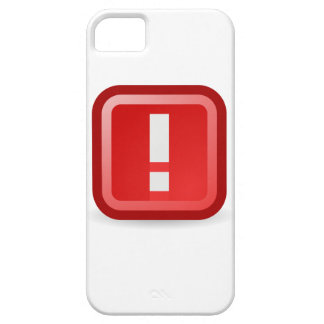 Capa Para iPhone 5 Alerta vermelho