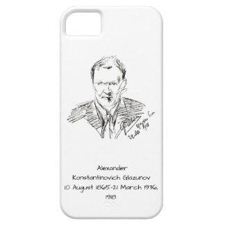 Capa Para iPhone 5 Alexander Konstamtinovich Glazunov 1918