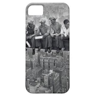 Capa Para iPhone 5 Almoço em um arranha-céus