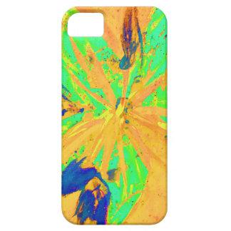 Capa Para iPhone 5 Amarelo ácido da lavagem de Santa Fé