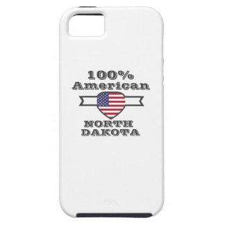 Capa Para iPhone 5 Americano de 100%, North Dakota