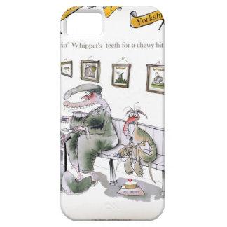 Capa Para iPhone 5 amor yorkshire que pede os dentes dos whippets