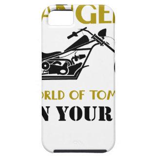 Capa Para iPhone 5 Anjo da motocicleta