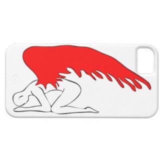 Capa Para iPhone 5 Anjo pecador