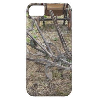 Capa Para iPhone 5 Arado velho do ferro e outras ferramentas