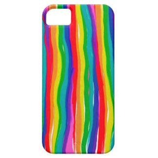 Capa Para iPhone 5 Arcos-íris pintados