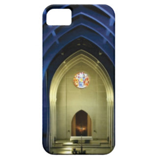 Capa Para iPhone 5 Arcos na igreja azul