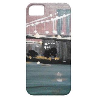Capa Para iPhone 5 Arquitectura da cidade escura