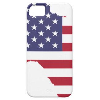 Capa Para iPhone 5 Arte abstrata Texas de América