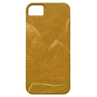 Capa Para iPhone 5 Arte artística DOURADA da folha de ouro de LOTUS