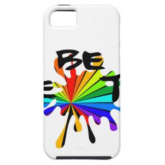 Capa Para iPhone 5 Arte colorida criativa
