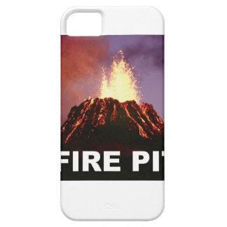 Capa Para iPhone 5 arte do poço do fogo