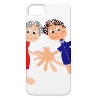 Capa Para iPhone 5 Arte gráfica - dois amigos