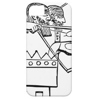 Capa Para iPhone 5 Arte grega do guerreiro