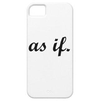 Capa Para iPhone 5 Ás If