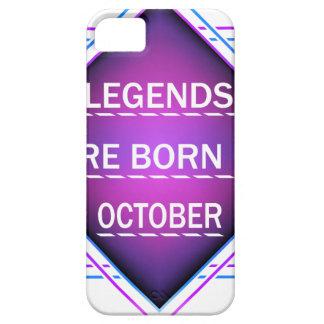 Capa Para iPhone 5 As legendas são nascidas em outubro