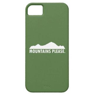 Capa Para iPhone 5 As montanhas satisfazem