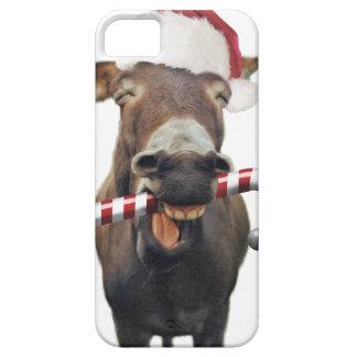 Capa Para iPhone 5 Asno do Natal - asno do papai noel - papai noel do
