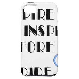 Capa Para iPhone 5 Aspire inspirar antes que nós expiremos