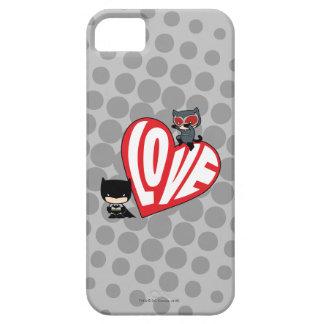 Capa Para iPhone 5 Ataque súbito da mulher-gato de Chibi em Batman