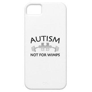 Capa Para iPhone 5 Autismo não para Wimps