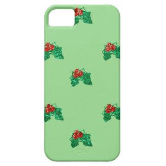 Capa Para iPhone 5 azevinho do Natal do sequin
