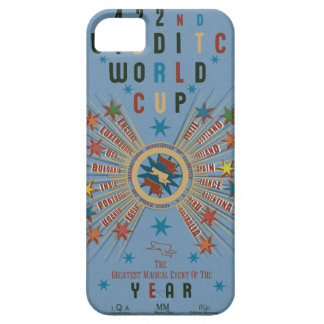 Capa Para iPhone 5 Azul do campeonato do mundo de QUIDDITCH™