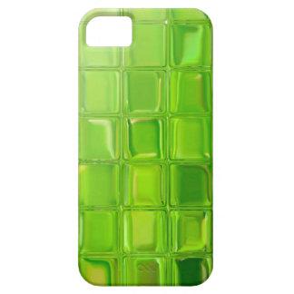 Capa Para iPhone 5 Azulejos do vidro verde
