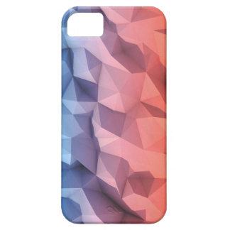Capa Para iPhone 5 Baixo caso poli bonito abstrato de 3D IPhone