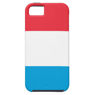 Capa Para iPhone 5 Baixo custo! Luxembourg embandeira