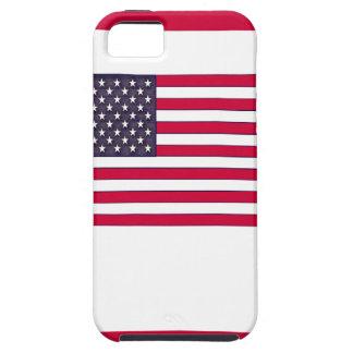 Capa Para iPhone 5 Bandeira americana (seu texto)