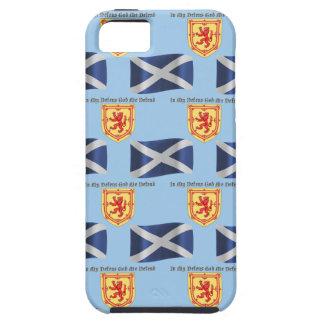Capa Para iPhone 5 Bandeira, crista e divisa de Scotland