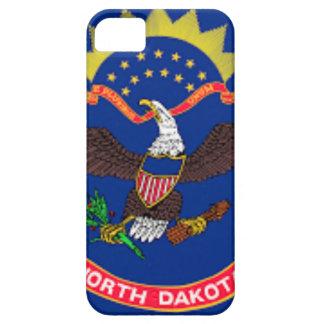 Capa Para iPhone 5 Bandeira de North Dakota