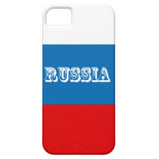 Capa Para iPhone 5 Bandeira de Rússia