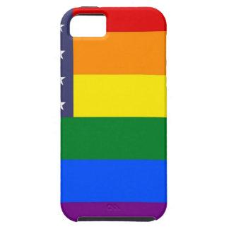 Capa Para iPhone 5 Bandeira do orgulho dos E.U.