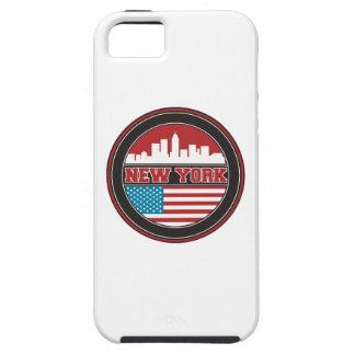Capa Para iPhone 5 Bandeira dos Estados Unidos da skyline | de New